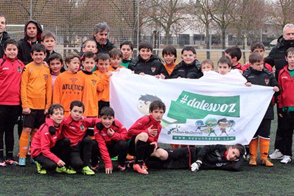 Torneo de Fútbol 7 #dalesvoz, Laguna del Duero (Valladolid)