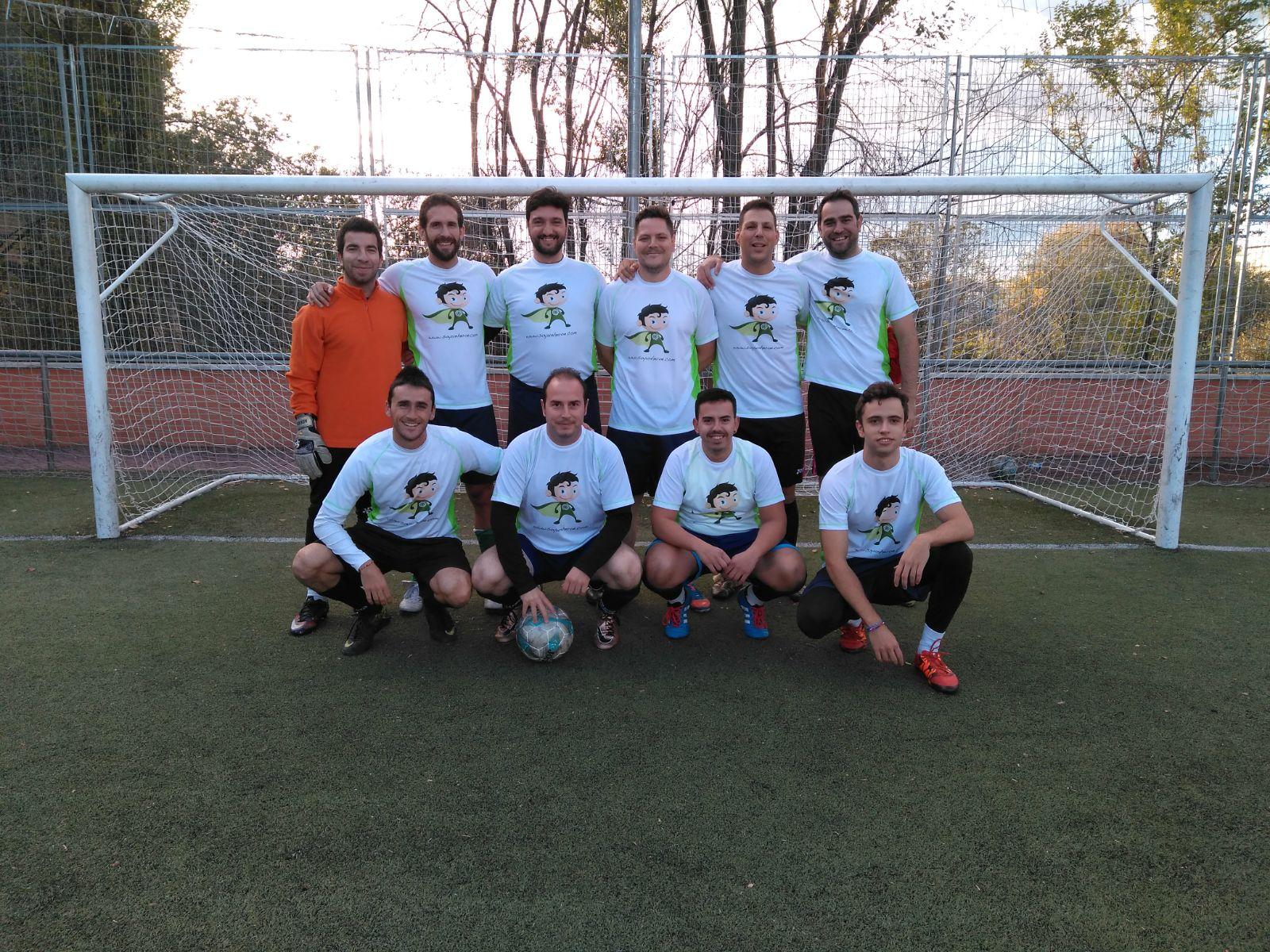 Phelan en el futbol!!!!!