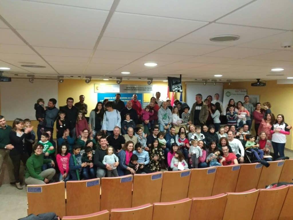 Encuentro de Familias de la Asociación Síndrome Phelan-McDermid en el CREER Burgos 2018
