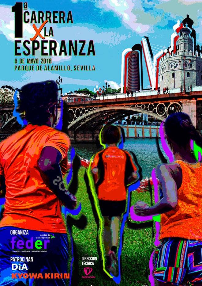I Carrera por la Esperanza en Sevilla