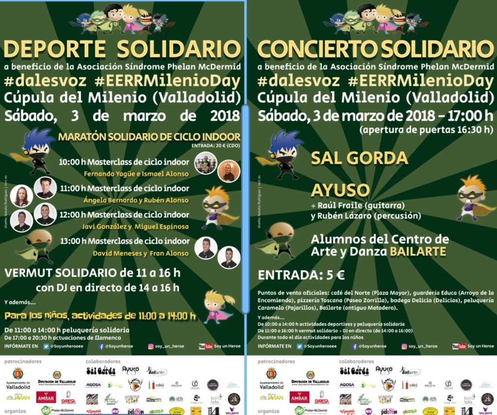 II Jornada solidaria #EERRMilenioday ( Valladolid)