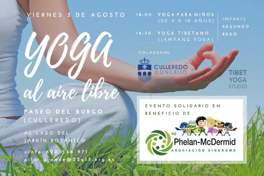 Yoga solidario en A Coruña