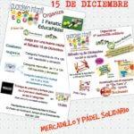 Mercadillo Solidario en la Guardería EDUCA (Valladolid)