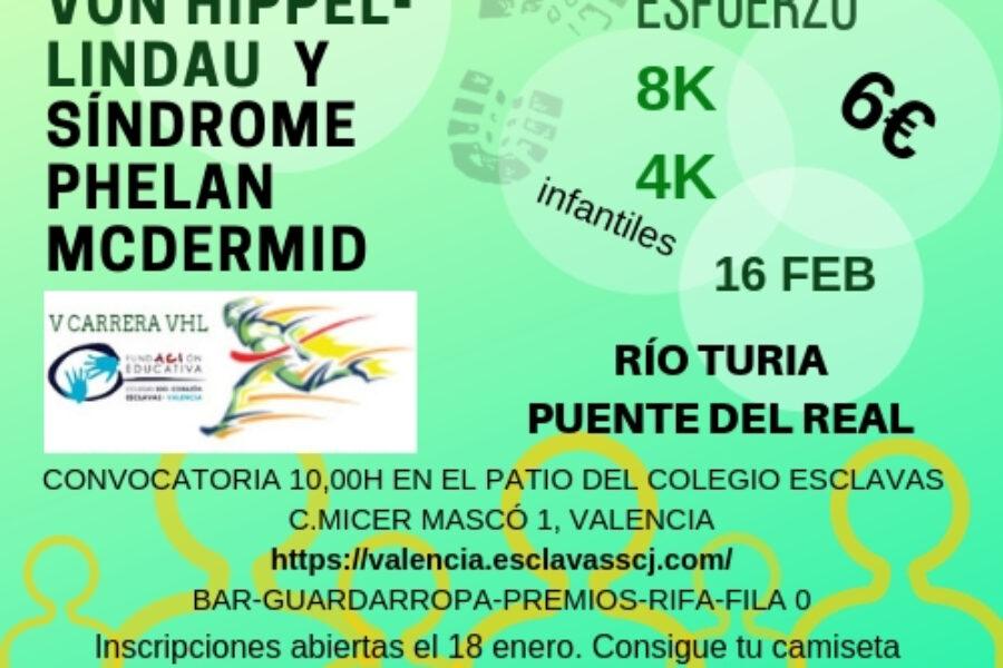 Carrera Solicaria 16 de febrero Colegio Esclavas de Valencia