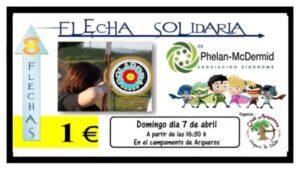 Cartel Flecha Solidaria Oropesa 2019