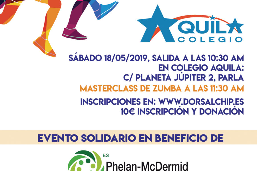 Carrera solidaria en Parla del Colegio Aquila