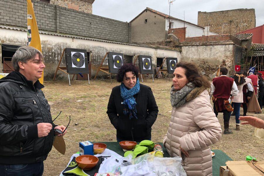 Flecha Solidaria en Oropesa (Toledo) con PMS