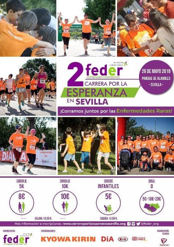 II Carrera por la Esperanza en Sevilla