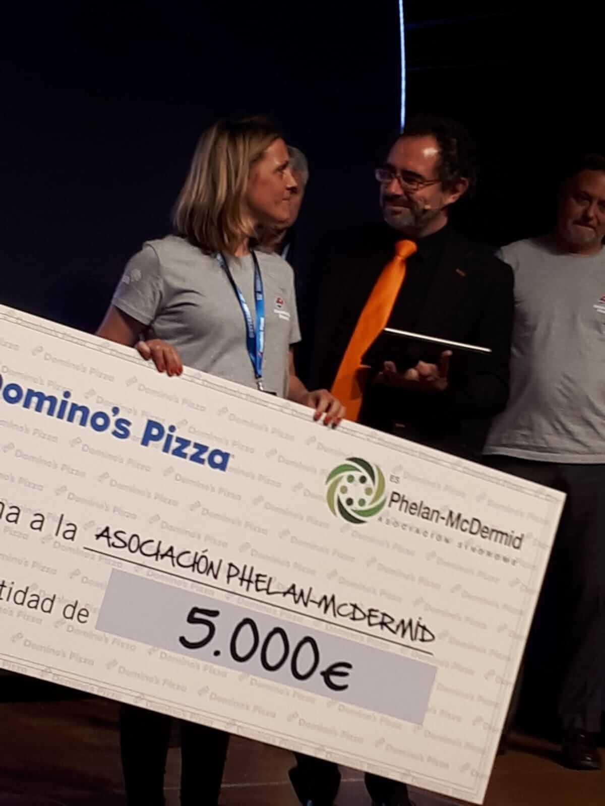 Aniversario solidario de Domino´s Pizza