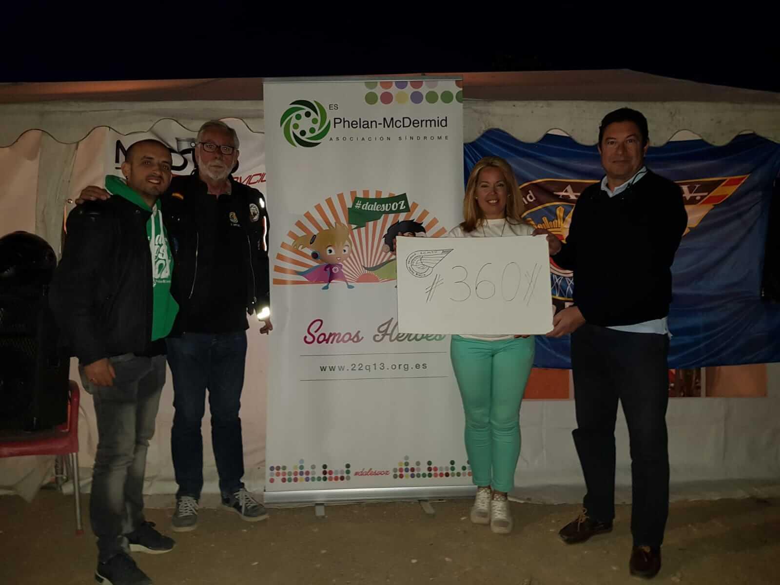 Desafío solidario del Club Moto Pincia en Valladolid